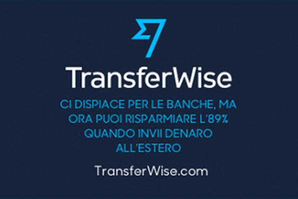 Trasferisci denaro con TransferWise e risparmia!