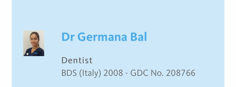 Dr Germana Bal   Dentista italiano