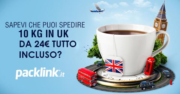 Come spedire un pacco da e verso UK?