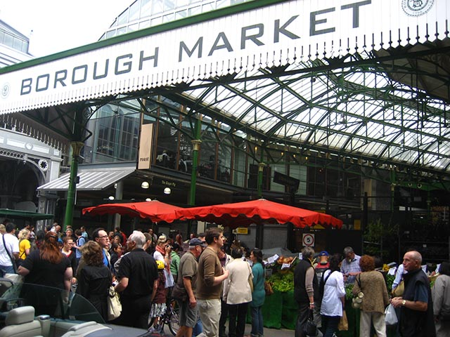 Borough Market: il paradiso dei buongustai   2019   The Italian Community