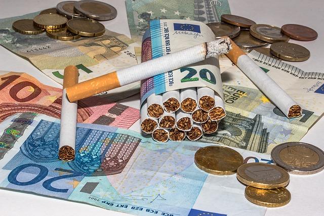 Costo sigarette in Inghilterra