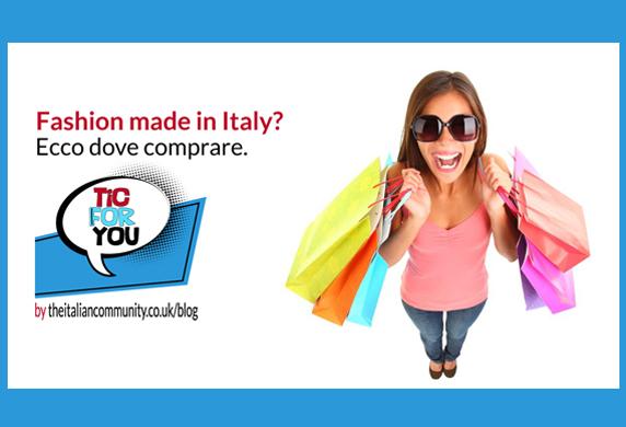Fashion e abbigliamento made in Italy? Ecco dove comprare