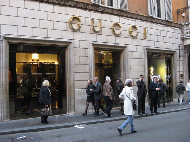 Italian Fashion Designer Gucci