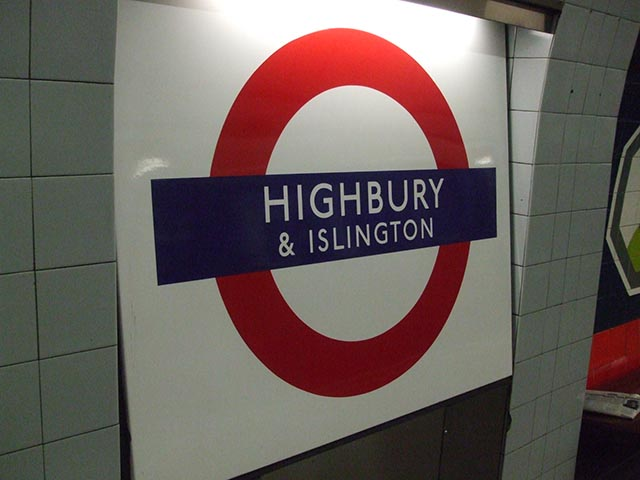 Zone di Londra | Highbury & Islington