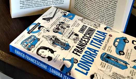 Londra Italia, il libro di Franceschini che racconta la nostra comunità all'ombra del Big Ben