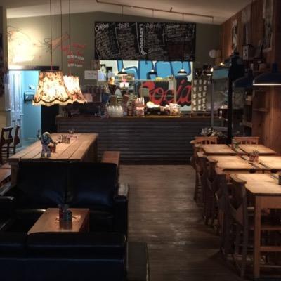 caffe a londra dove lavorare