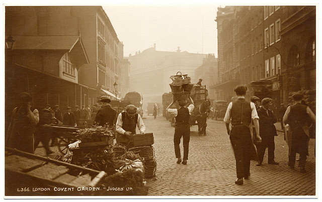 London Coment Garden 1925