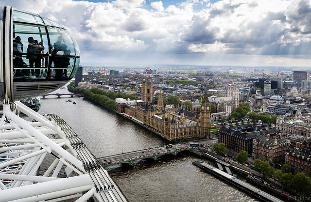 London Eye sul Parlamento - Paul Tridon
