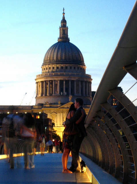 trovare l'amore a Londra