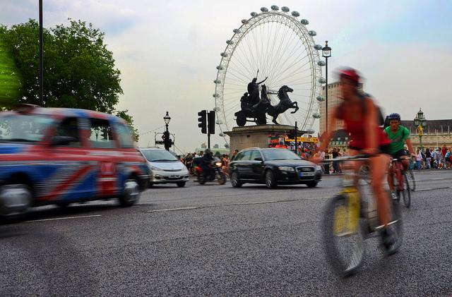 London Traffic - Photo Credits Duncan Harris on Flickr - Licenza Creative Commons al momento dell'utilizzo