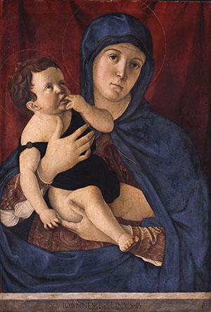 Madonna col Bambino dormiente Bellini