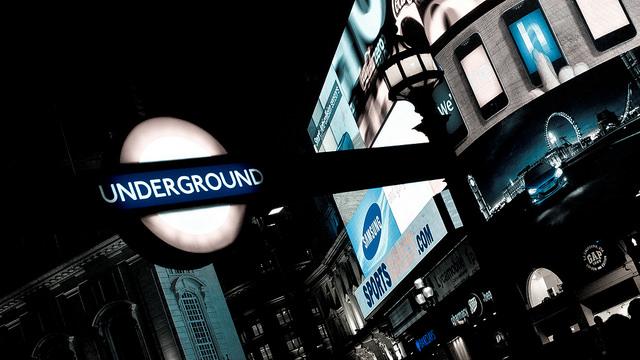 Mappa tube Londra