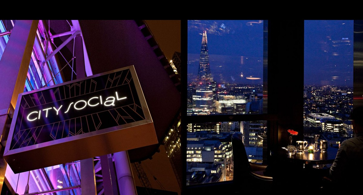 Ristorante grattacielo Londra