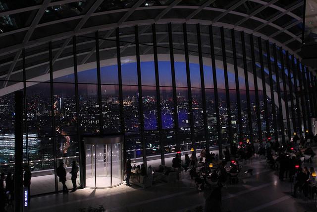 Ristoranti grattacieli Londra