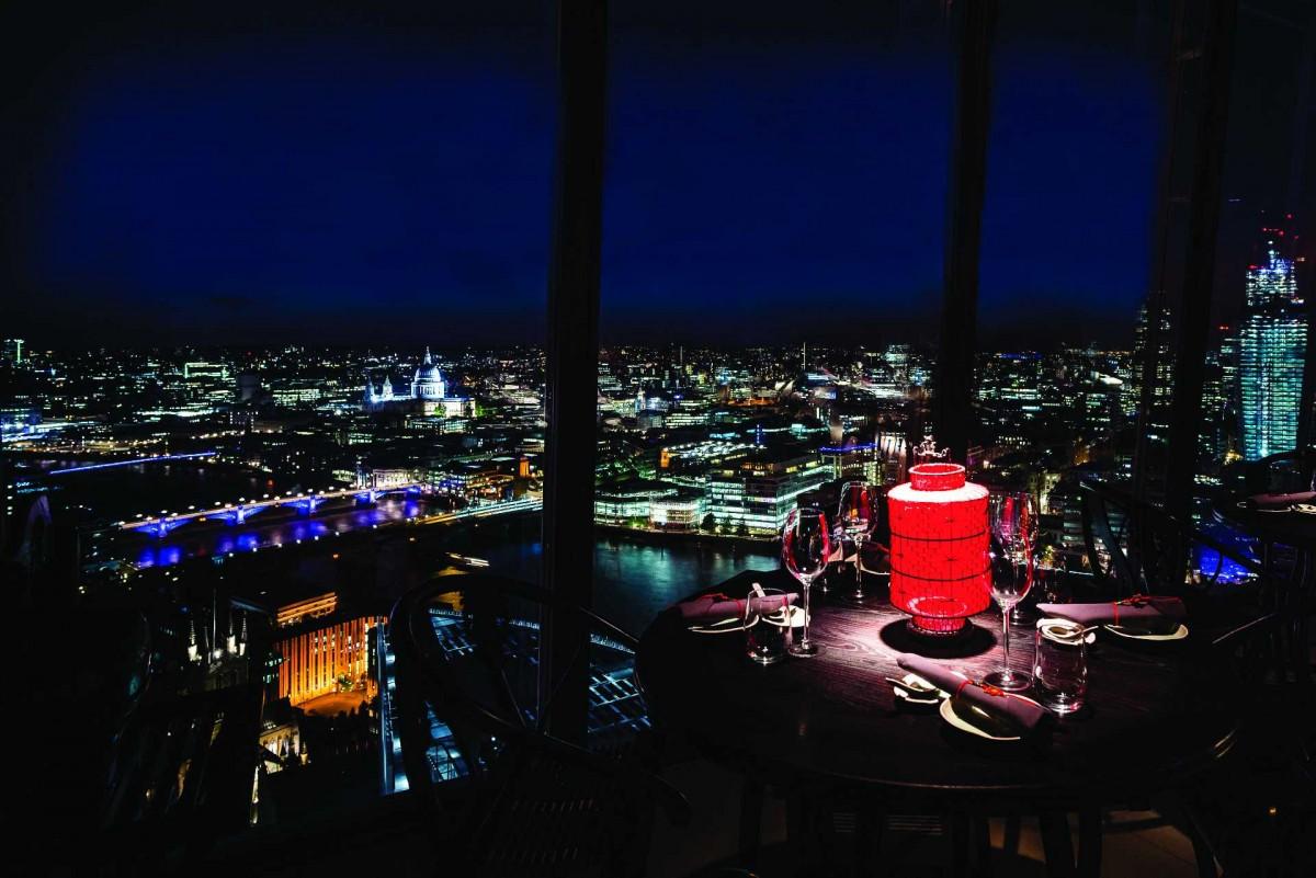 Ristoranti piani alti Londra