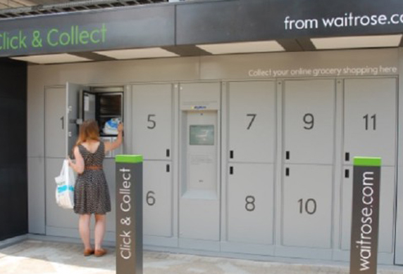 Londra, Click&Collect: acquisti la spesa online e la ritiri mentre rincasi nella stazione della metro prescelta!