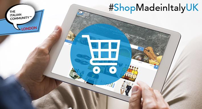 Nasce il negozio online per gli Italiani nel Regno Unito
