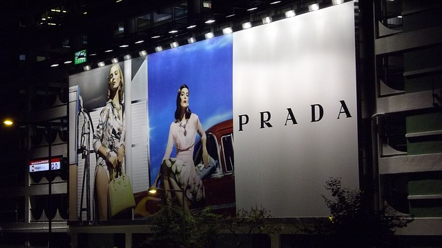 Italian women fashion brands Prada