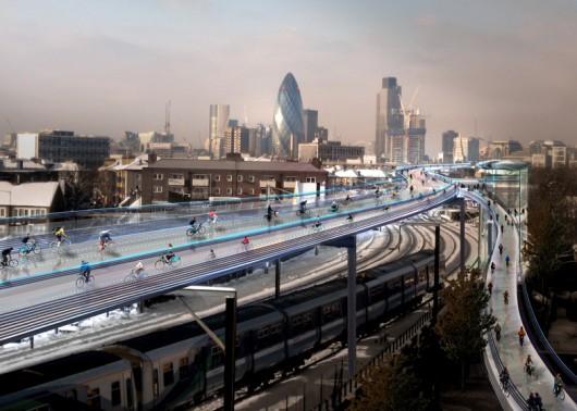 A Londra la ciclabile più lunga d'Europa
