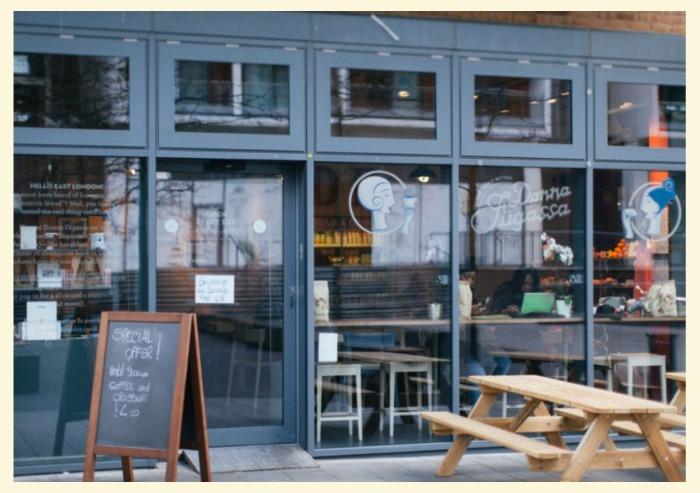 freelance a Londra dove lavorare caffe