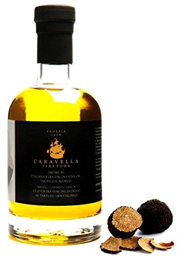 extra virgin olive oil black truffle