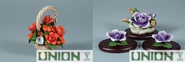 fiori di porcellana