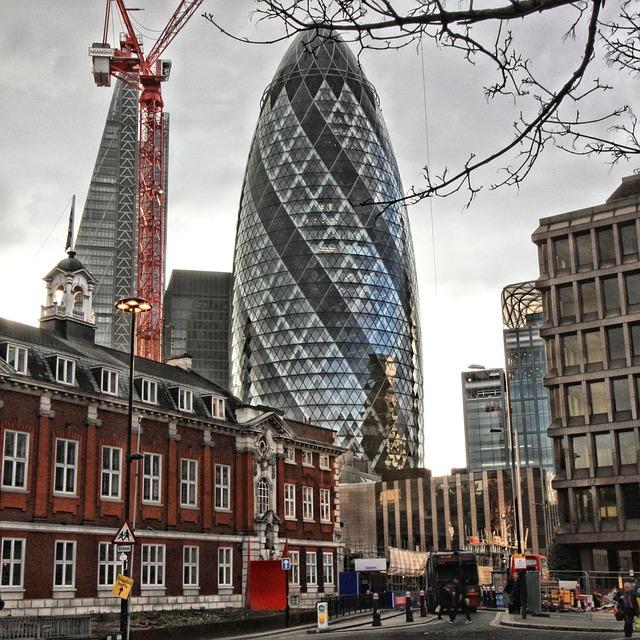 Londra e architettura scopriamo i migliori edifici e for Tour de verre a londres