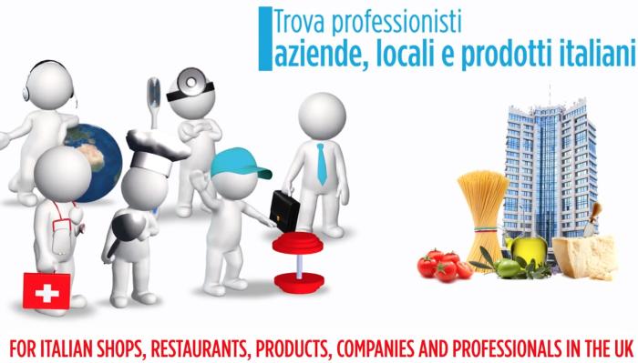 La directory per italiani e Italian Lovers nel Regno Unito