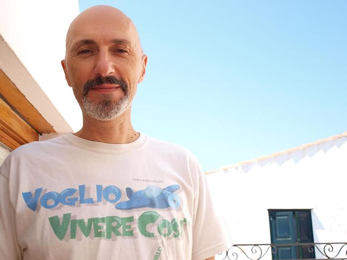 Alessandro Castagna, titolare del Web Magazine VoglioVivereCosì
