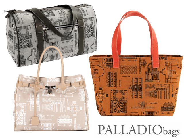 PALLADIObags: unique bags inspired by Palladio