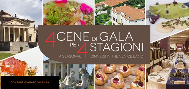 Palladian dinners: discover the excellence of the food and the handicraft of Veneto
