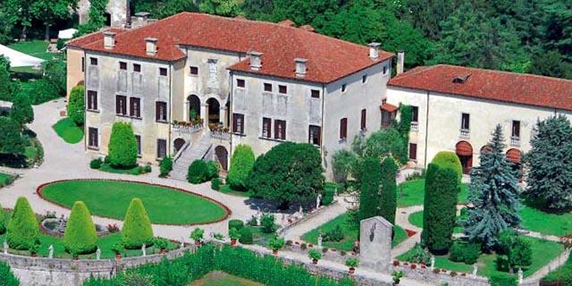 Palladiana Villa godi malinverni