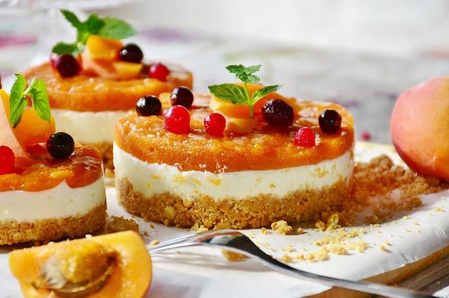 Cold apricot cake   Italian recipes