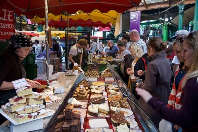Borogh Market cake stall