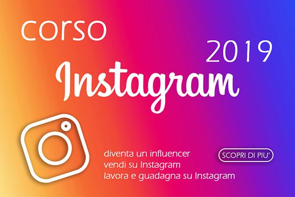 Corso Instagram 2019